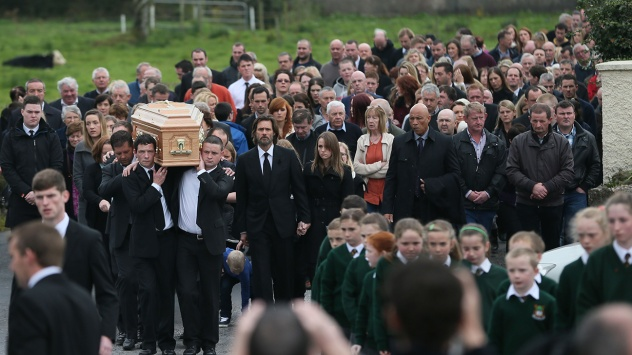 Cathriona White funeral